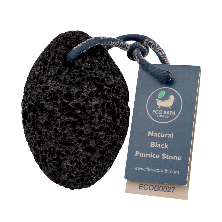 Eco Bath Natural Black Pumice Stone