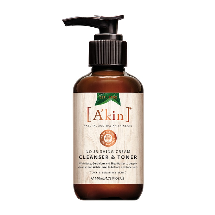 A'kin Cleanser & Toner 140ml