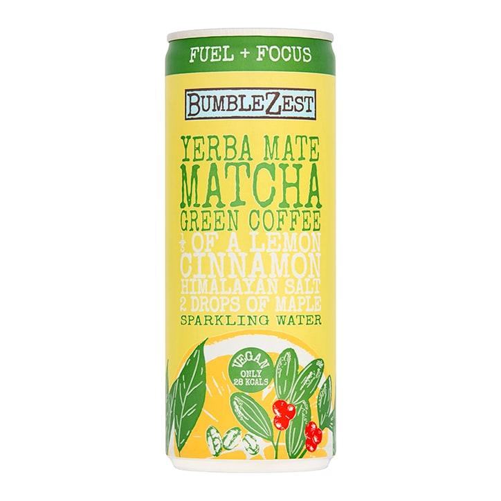 Bumblezest Yerba Mate, Matcha & Coffee Drink
