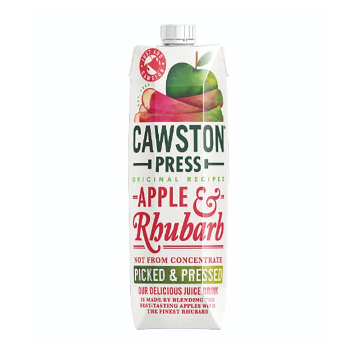 Cawston Apple & Rhubarb Juice - Pressed 1Ltr