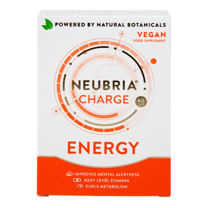 Neubria Charge Energy Vegan 60 Capsules