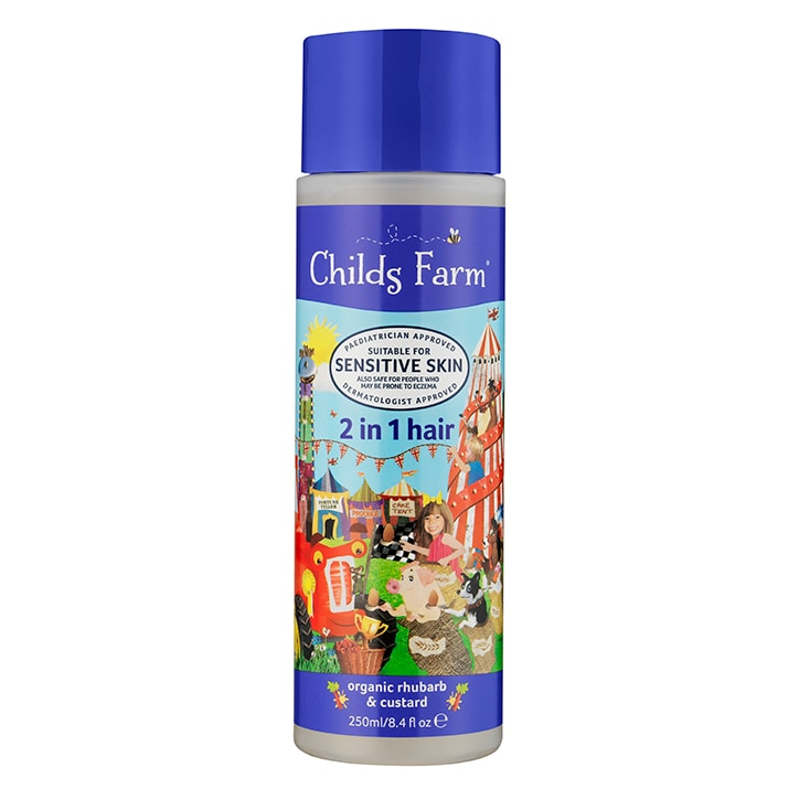 Childs Farm 2in1 Shampoo & Conditioner -  Rhubarb & Custard 250ml
