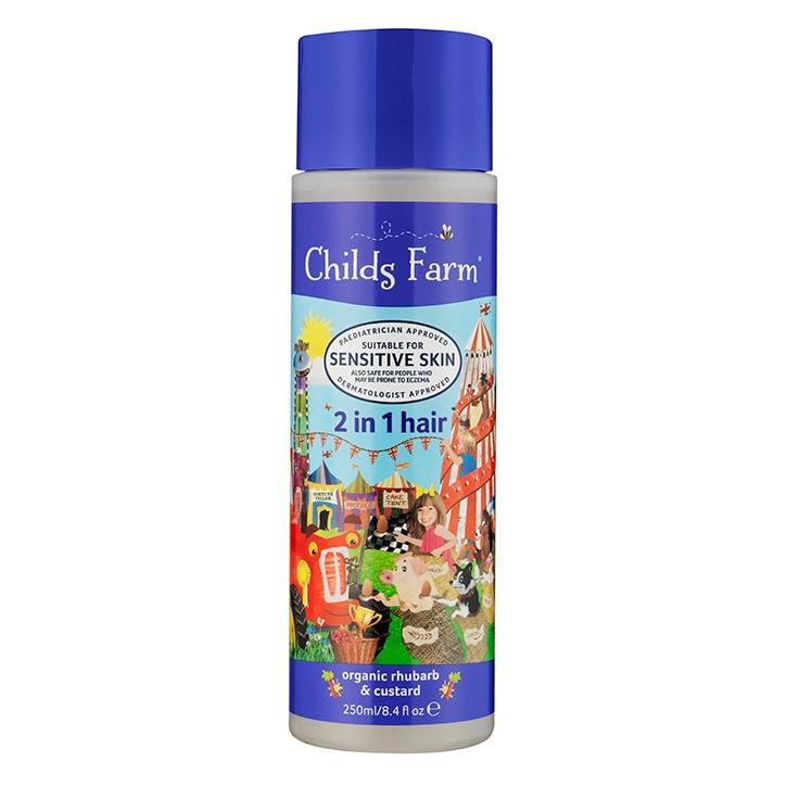 Childs Farm 2in1 Shampoo & Conditioner -  Rhubarb & Custard