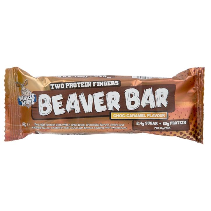 Muscle Moose Beaver Bar Chocolate Caramel 60g