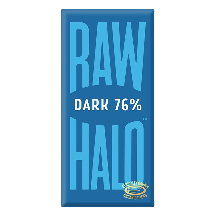 Raw Halo Vegan Pure Dark Raw Chocolate 70g