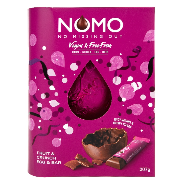 NOMO Fruit Crunch Easter Egg & Bar