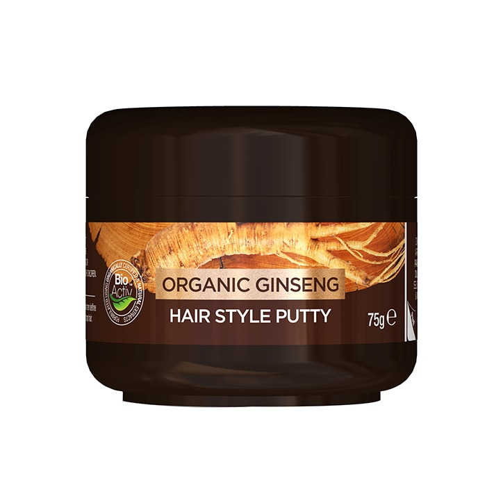 Dr Organic Ginseng Hair Style Putty 75ml