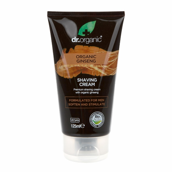 Dr Organic Ginseng Shaving Cream 125ml