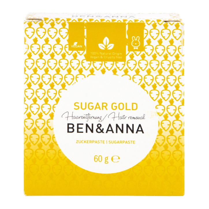 Ben & Anna Sugar Gold - Hair Removal Sugar Paste