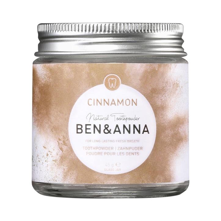 Ben & Anna Toothpowder - Cinnamon 45g