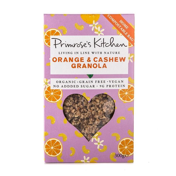 Primrose's Kitchen Organic Orange & Cashew Granola
