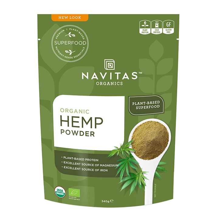 Navitas Hemp Protein Powder 340g
