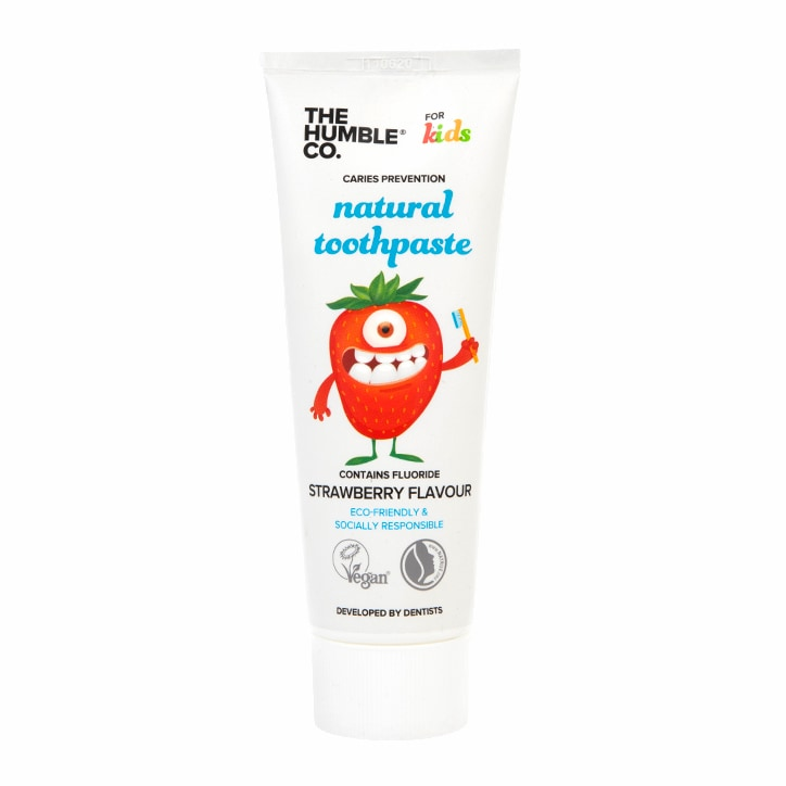 Humble Natural Toothpaste For Kids - Strawberry Flavour 75ml