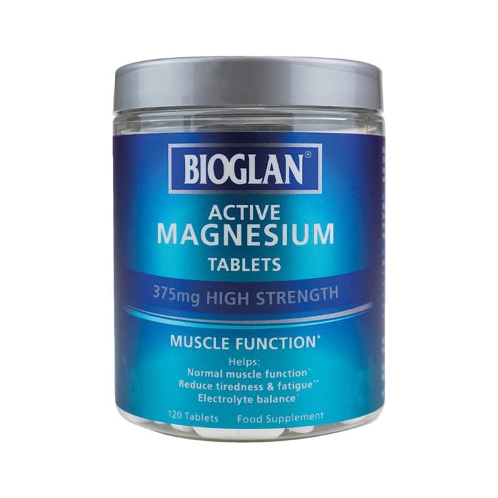 Bioglan Active Magnesium 375mg 120 Tablets