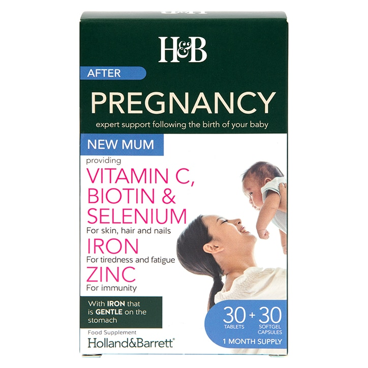 Holland & Barret New Mum 30 Tablets + 30 Capsules 1 Month Supply