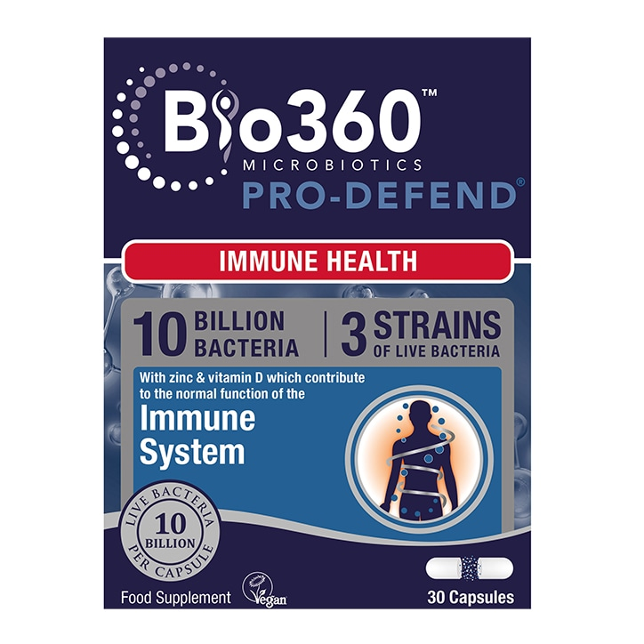 Natures Aid Pro-Defend 10 Billion Bacteria 30 Capsules