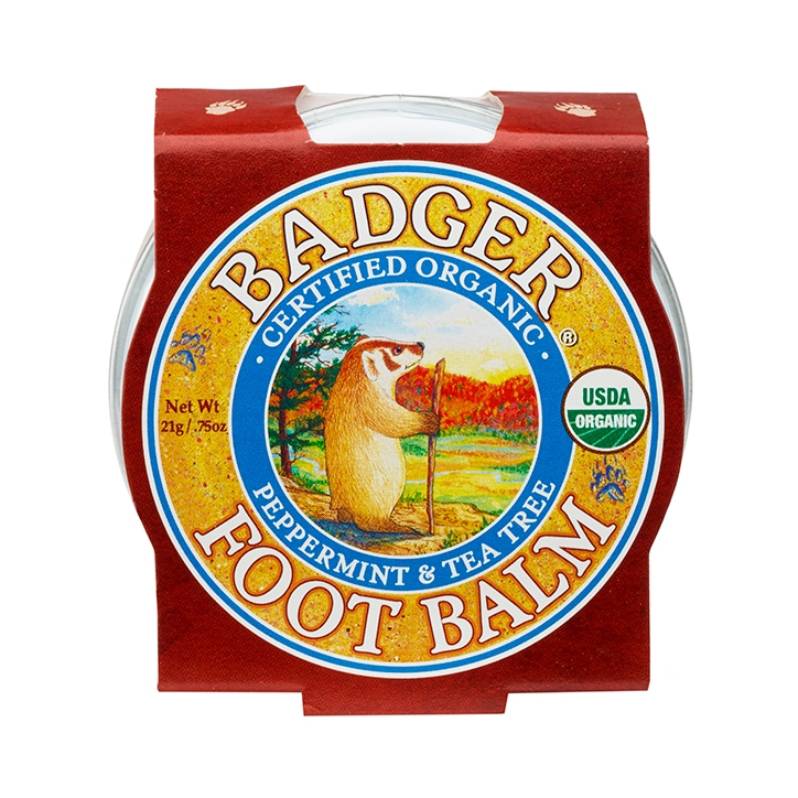 Badger Mini Foot Balm 21g