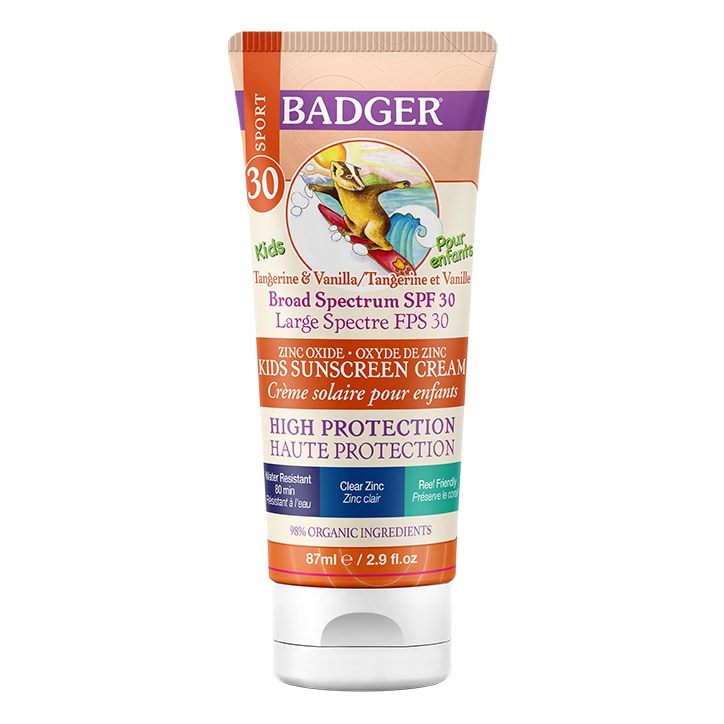 Badger Kids SPF30 Sunscreen 87ml