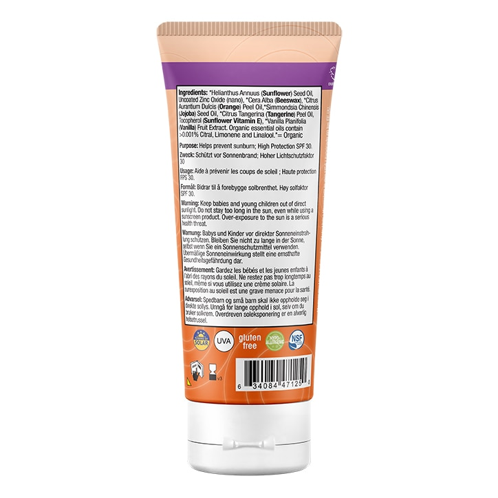 Badger Kids SPF30 Sunscreen