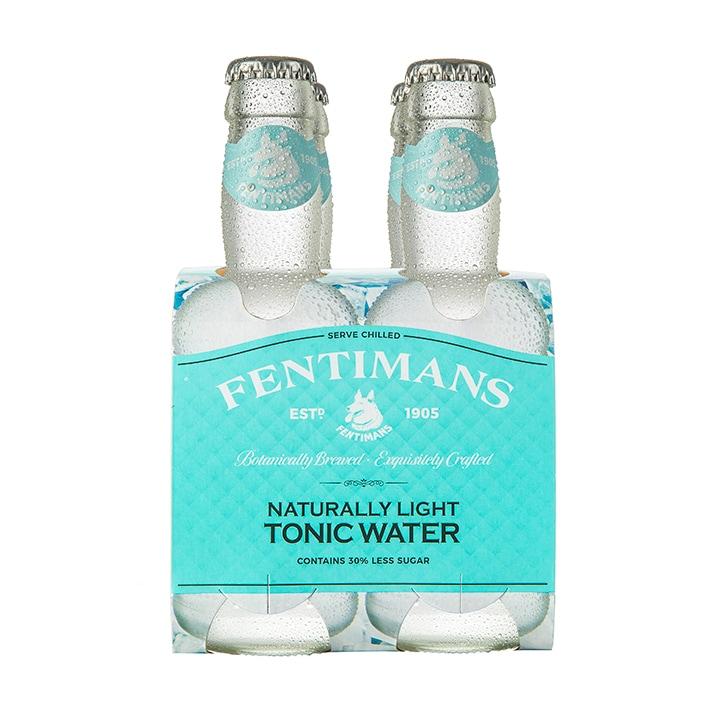 Fentimans Light Tonic Water - Multi Pack (200ml x 4)