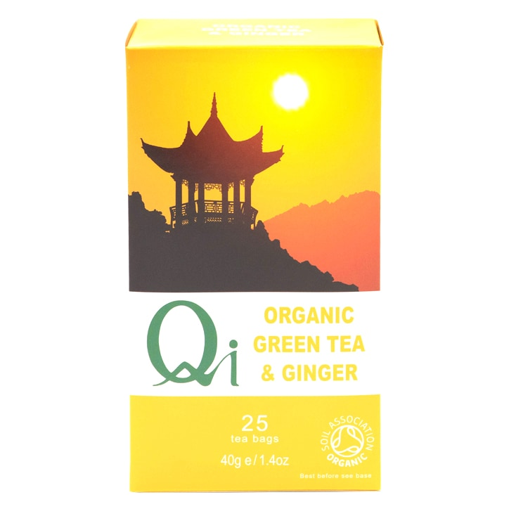 Herbal Health Green Tea & Ginger - Organic & Fairtrade
