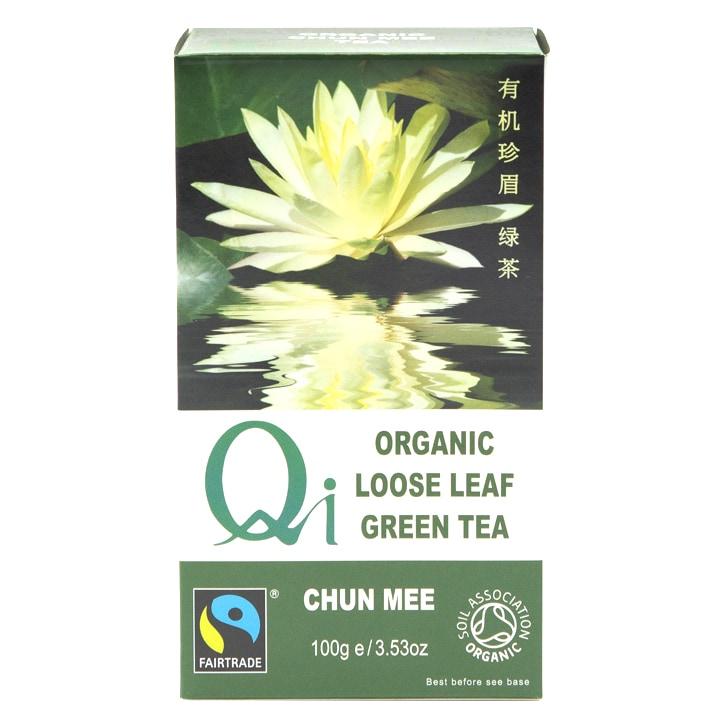 Herbal Health Loose Leaf Chun Mee Tea - Organic & Fairtrade 100g