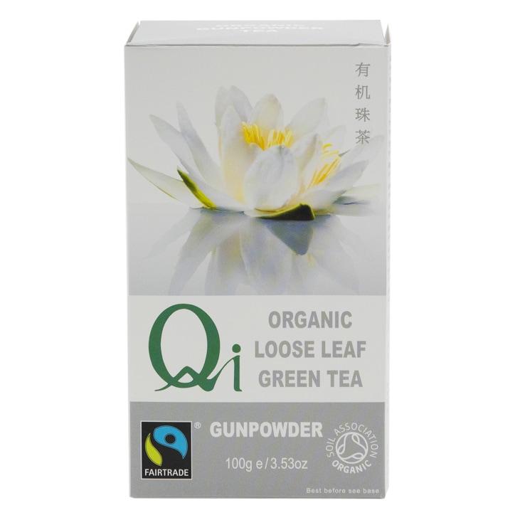 Herbal Health Loose Leaf Gunpowder Tea - Organic & FT