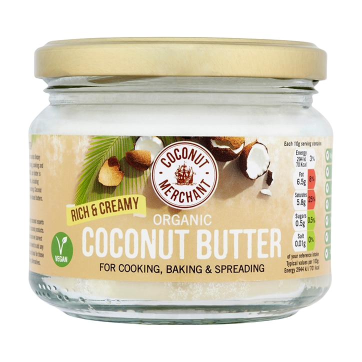 Coconut Merchant Organic Coconut Butter 300g