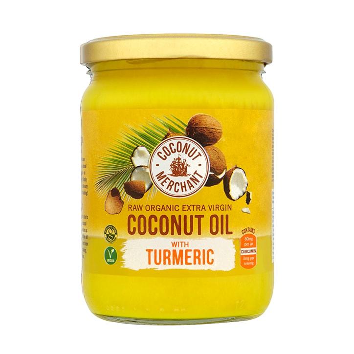 Coconut Merchant Organic Coconut Oil With Turmeric 500ml