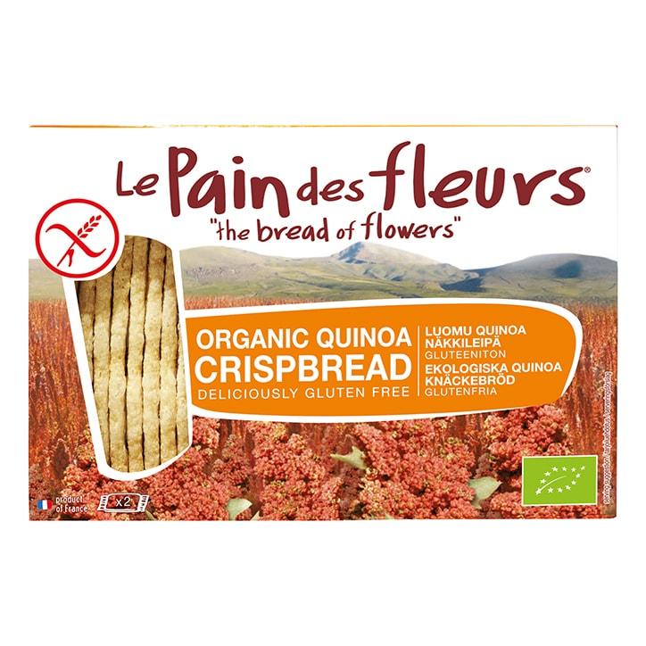 Le Pain Des Fleurs Quinoa Crispbread 125g