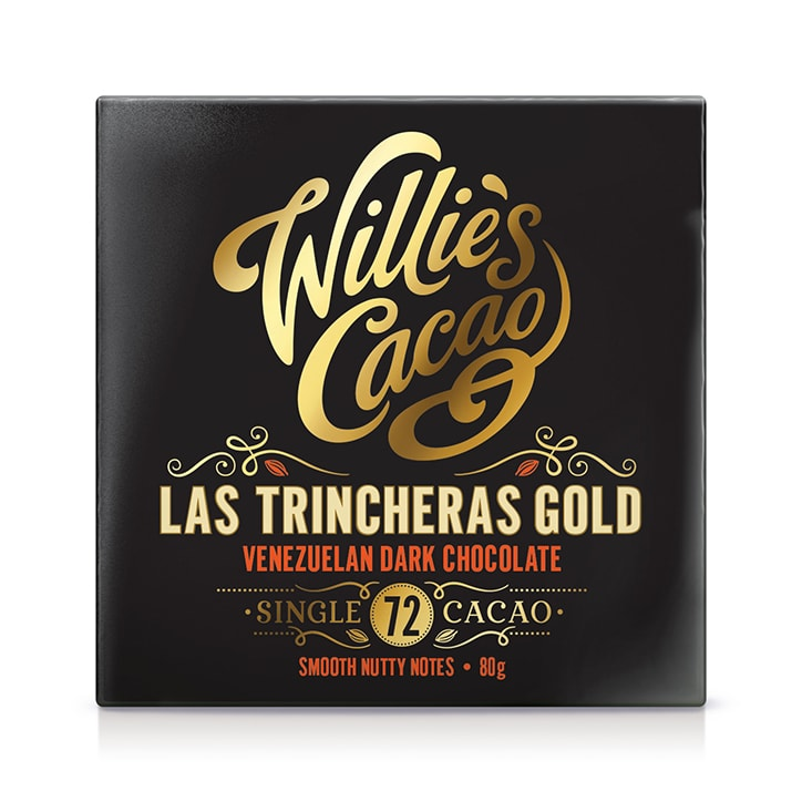 Willies Cacao Las Trincheras Gold Venezuelan 72% Dark Chocolate