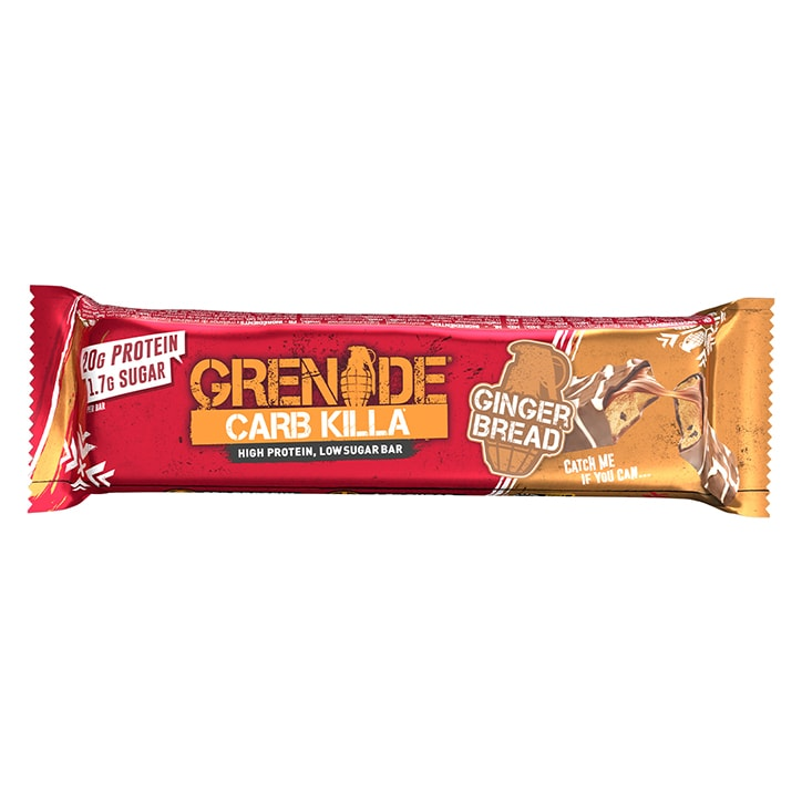 Grenade Carb Killa Protein Bar Gingerbread 60g