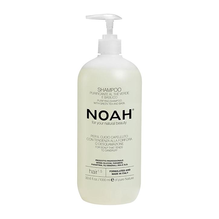 Noah Purifying Shampoo - Green Tea & Basil - 1000ml