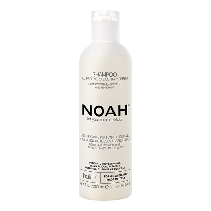 Noah Fortifying Shampoo - Black Pepper & Peppermint - 250ml