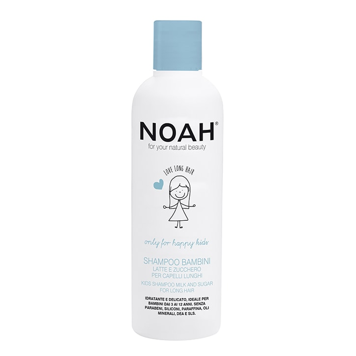 Noah Kids Shampoo - Milk & Sugar for Long Hair