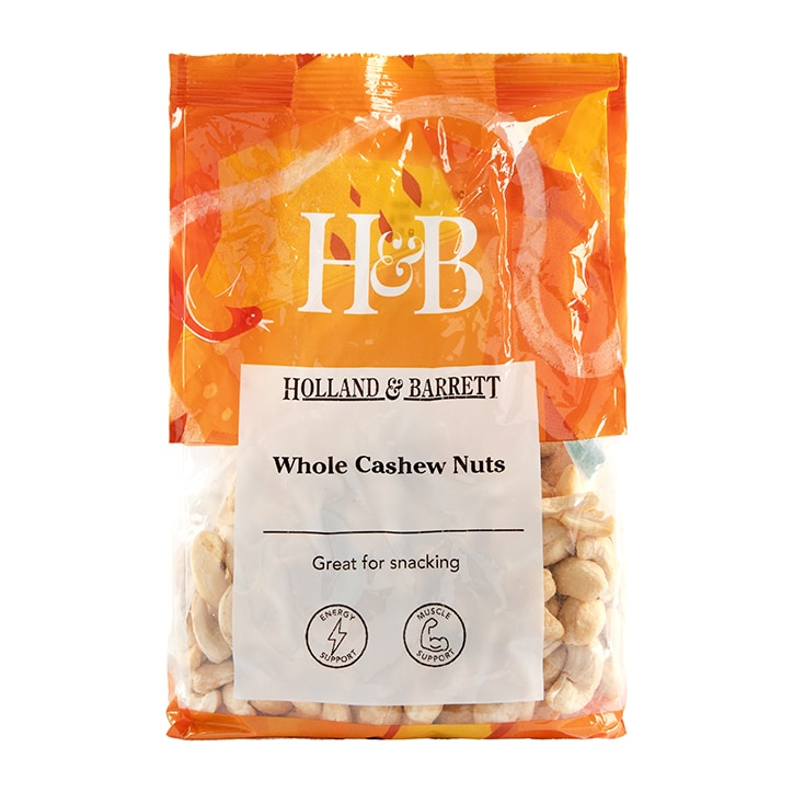 Holland & Barrett Whole Cashew Nuts 450g
