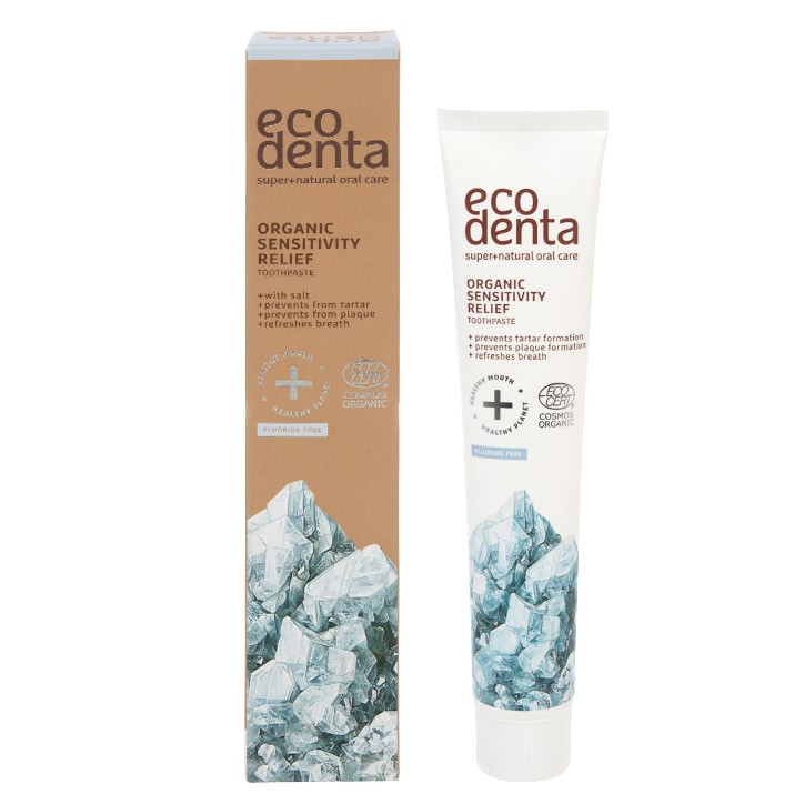 Ecodenta Organic Sensitivity Relief Toothpaste with Salt 75ml