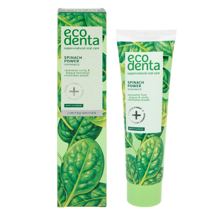 Ecodenta Spinach Power Toothpaste (limited edition) 100ml