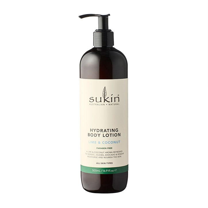 Sukin Lime & Coconut Body Lotion 500ml