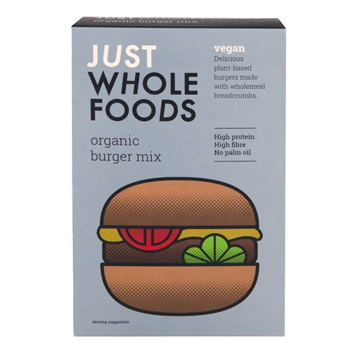 Just Wholefoods Organic Vegan Burger Mix