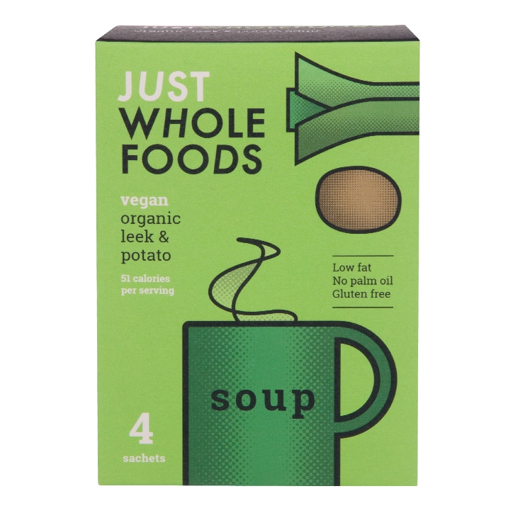 Just Wholefoods Soup In A Mug - Leek & Potato 17g