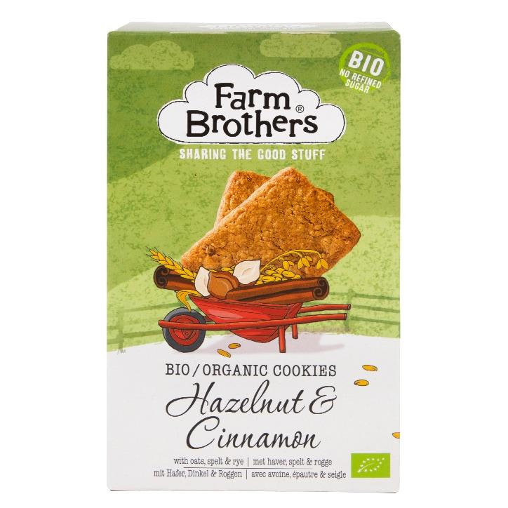 Farm Brothers Hazelnut & Cinnamon Cookies 150g