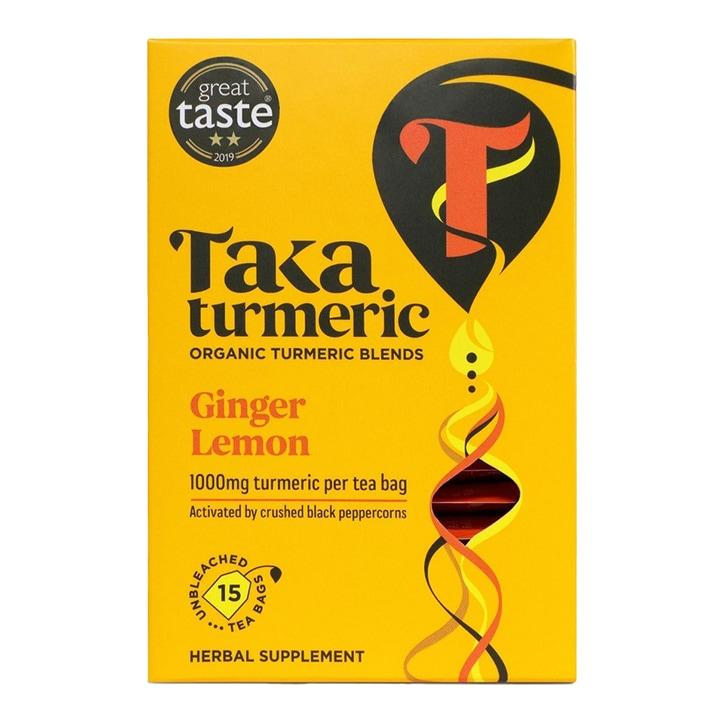 Taka Turmeric Ginger Lemon Tea 15 Bags