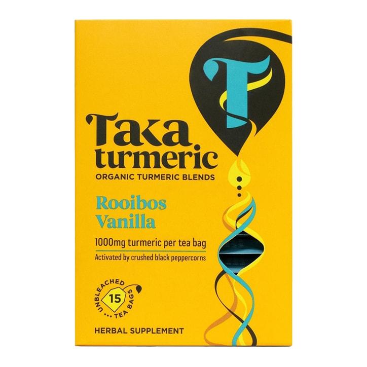 Taka Turmeric Rooibos Vanilla Tea 15 Bags