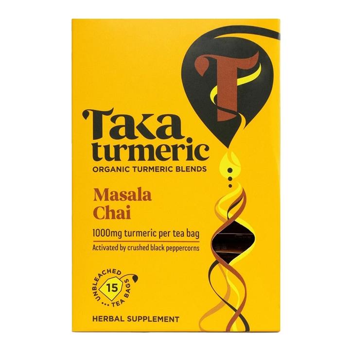Taka Turmeric Masala Chai Tea 15 Bags