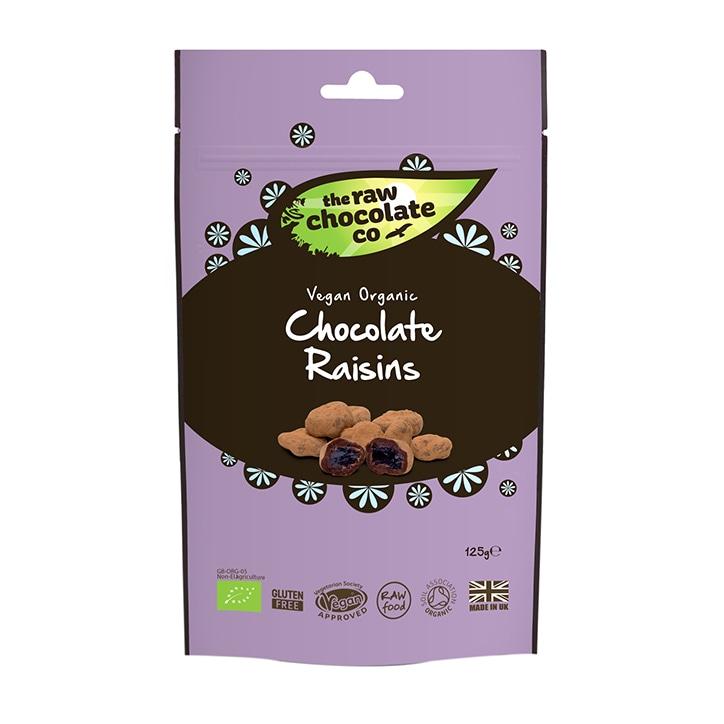 The Raw Chocolate Company Raw Chocolate Raisins 125g