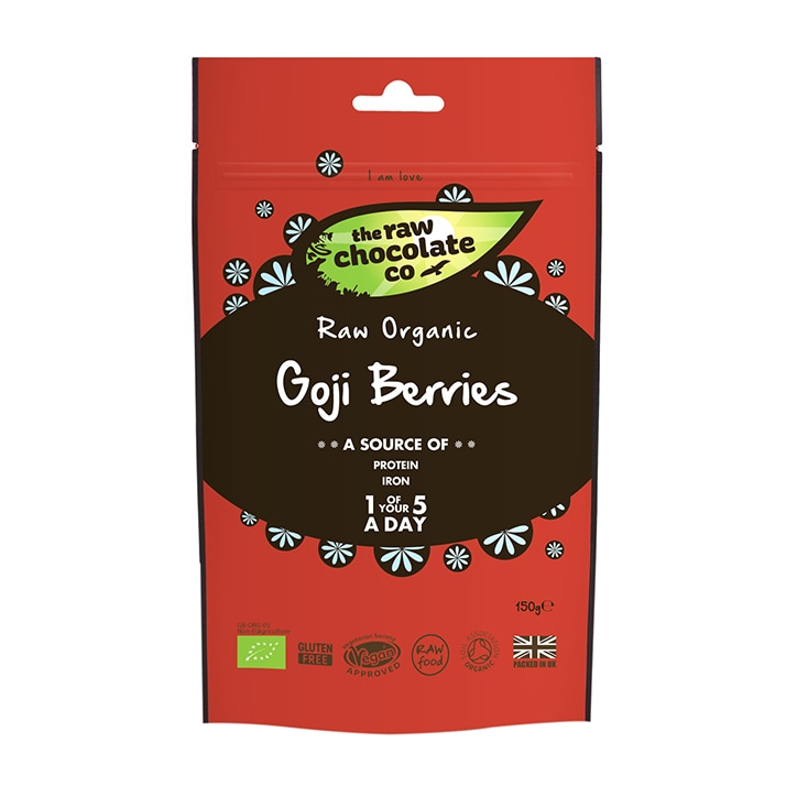 The Raw Chocolate Company Goji Berries - Uncoated 150g
