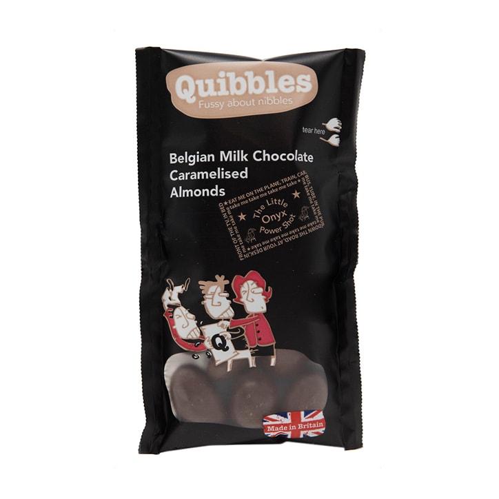 Quibbles Belgian Milk Chocolate Caramelised Almonds 35g
