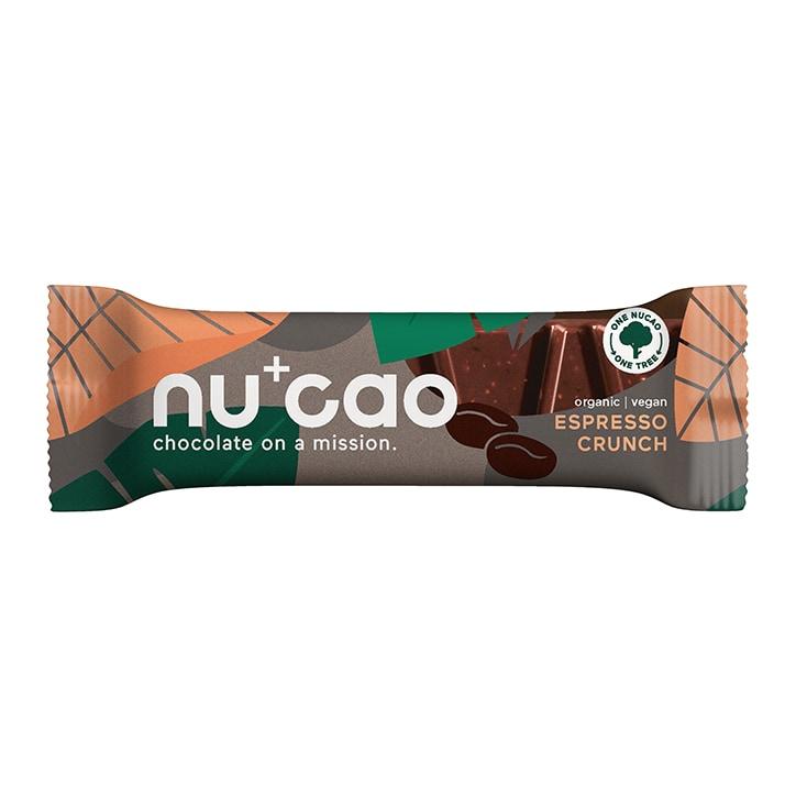 Nucao Hemp Seed Raw Cacao Bar - Espresso Crunch 40g