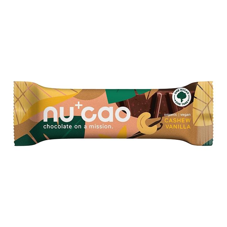 Nucao Hemp Seed Raw Cacao Bar - Cashew Vanilla